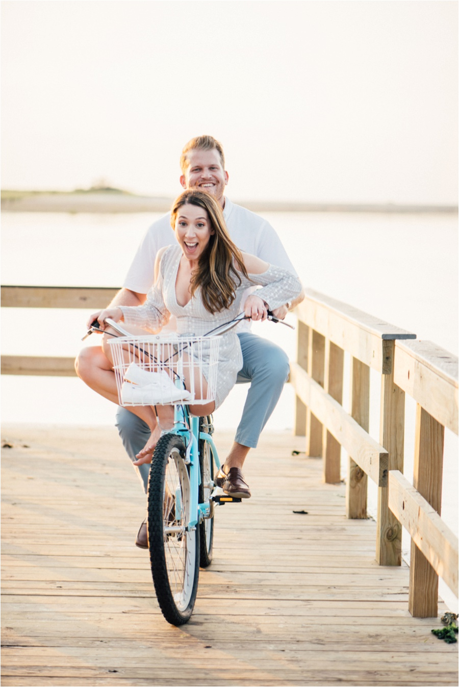 long island engagement session