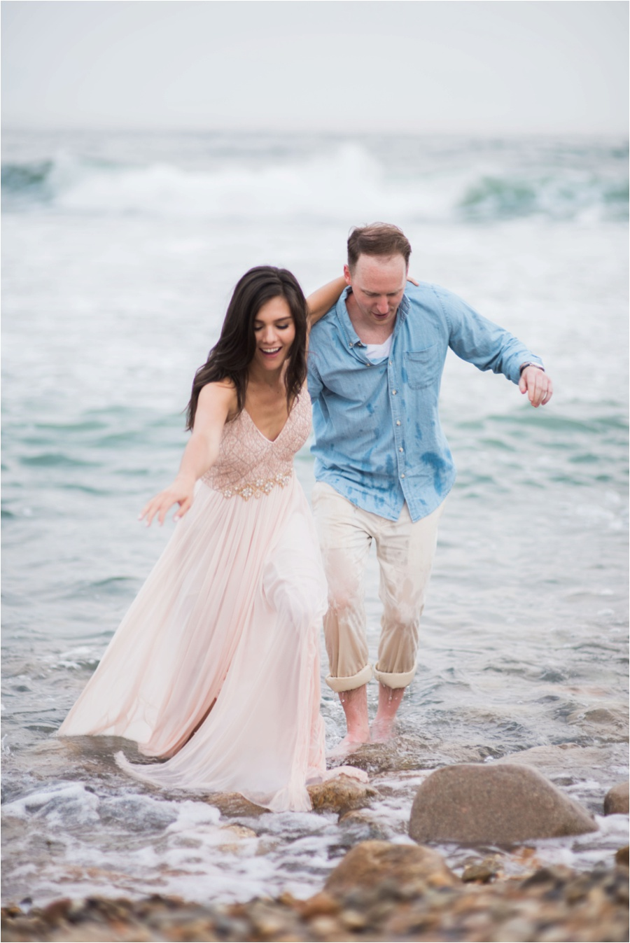 Montauk engagement session